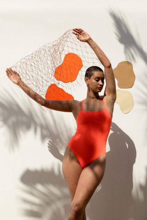 Girlfriend collective gf swimwear collection bikini top bottom one piece sustainable price where to buy 1
