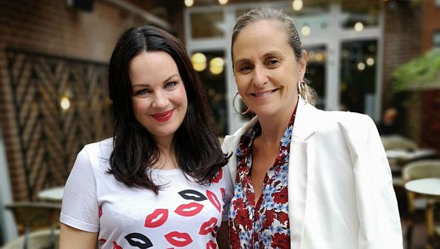 Triona McCarthy and Debbie O\'Donnell