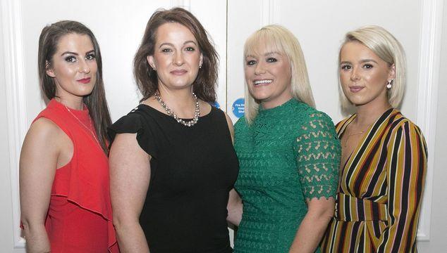 Clare Mullaney Dignam, Fiona McDermott, Michelle Ryan, Aliosia Mitchell from The Spa at Ashford Castle.