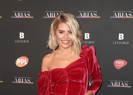 Mollie King at the ARIA Awards