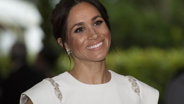 Meghan Markle wore a gown designed by Irish man Don O\'Neill while on a royal tour