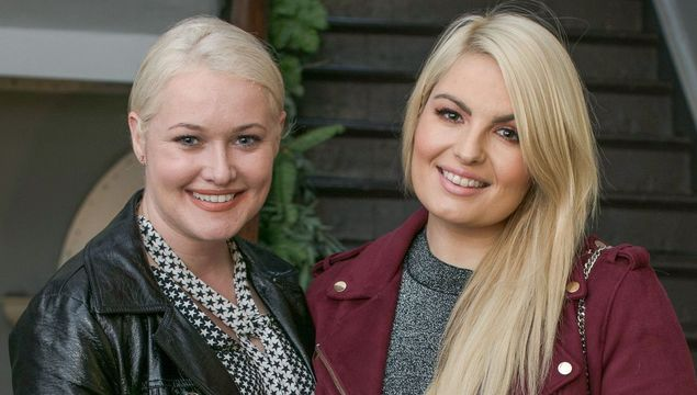 Lorna Weightman and Louise O\'Reilly