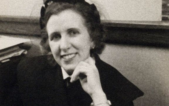 """Featured in \""""Blazing the Trail\"""": computer programming pioneer Kay McNulty."""
