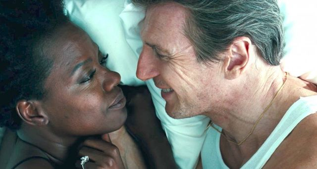 Liam Neeson and Viola Davis star in Widows