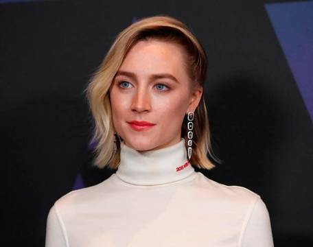 Saoirse Ronan in at the Governor\'s Awards in Calvin Klein
