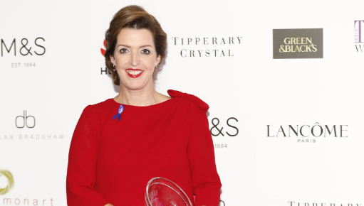 Vicky was the recipient of the Special Recognition Award at this year\'s Irish Tatler Women of the Year awards