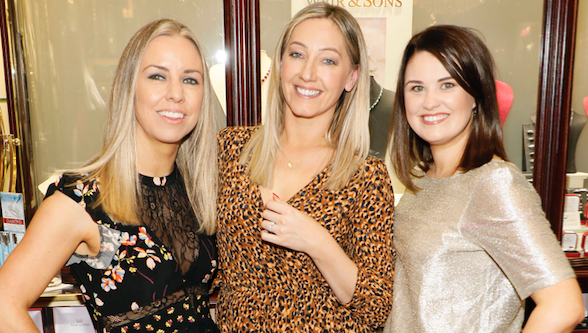 Lisa Freeman, Andrea Buckley and Michele McGeady at Weir & Sons