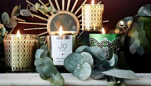 A gorgeous candle is a festive essential