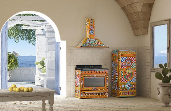 The New Divina Cucina collection by Dolce & Gabbana X SMEG