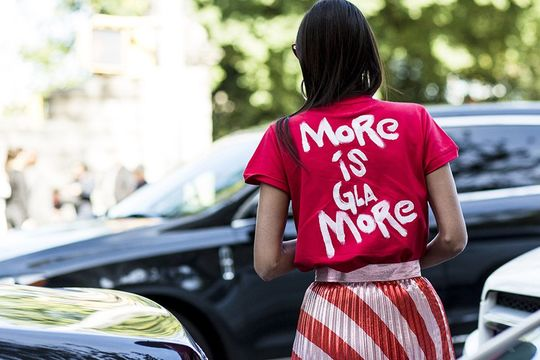 Currently trending: More is Gla-more; AKA, overloading your own life