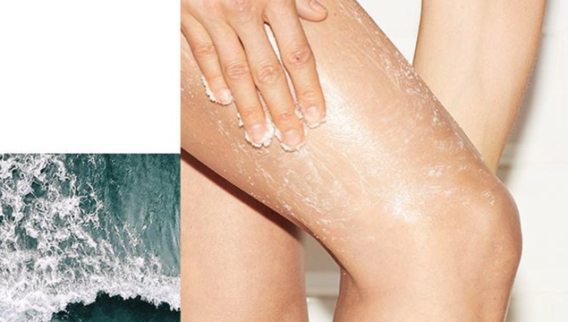 Salt scrubs are like sage smudging, but for self.