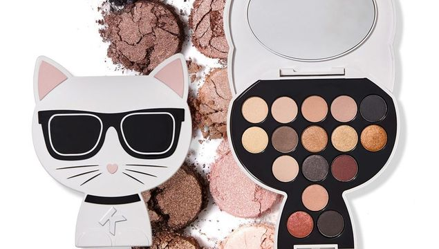 The New Karl Lagerfeld + ModelCo makeup range has landed!