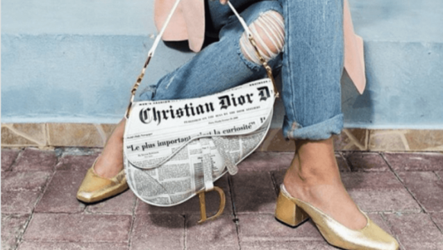 Dior s iconic Saddle bag is officially making a comeback.  878c6ea2dedd1