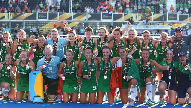 Ireland\'s hockey world cup silver medallists