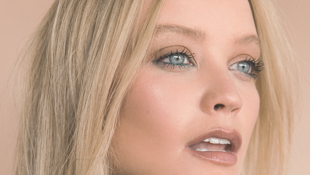 Laura Whitmore shot by Alex Hutchinson for the September issue of Irish Tatler