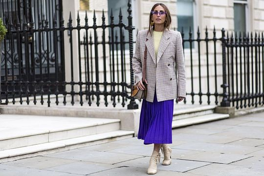 d98d79af08 Pleated Midi Skirt Styling We Love | Irish Tatler