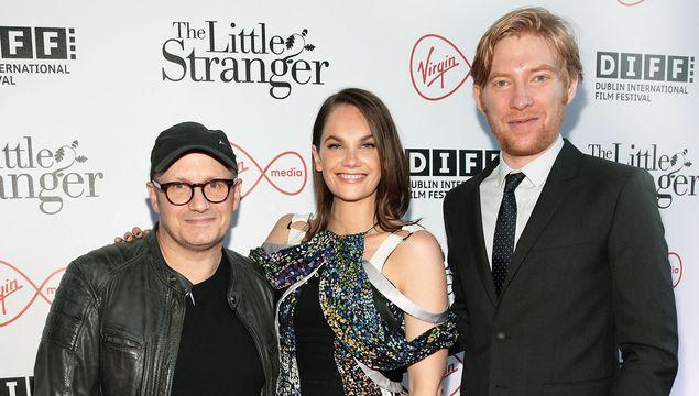Director Lenny Abrahamson, and stars Ruth Wilson and Domhnall Gleeson