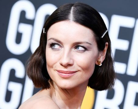 BEVERLY HILLS, CA - JANUARY 06: Caitriona Balfe attends the 76th Annual Golden Globe Awards at The Beverly Hilton Hotel on January 6, 2019 in Beverly Hills, California. (Photo by Frazer Harrison/Getty Images)