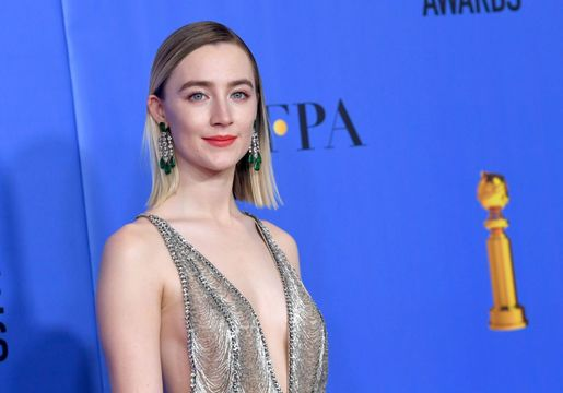 BEVERLY HILLS, CA - JANUARY 06: Saoirse Ronan poses in the press room during the 76th Annual Golden Globe Awards at The Beverly Hilton Hotel on January 6, 2019 in Beverly Hills, California. (Photo by Kevin Winter/Getty Images)