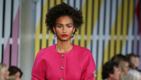 Bright and bold at Escada\'s ss19 show