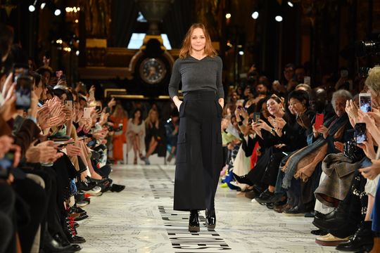 90fe04de588 The show was dedicated to 'the ones we love in the past, present and  future'. British fashion designer Stella McCartney's ...