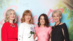 Maria, Fiona, Karen and Deirdre Flannery at the CMRF Enchanted Garden ball