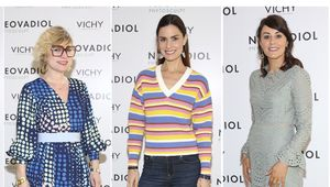 Sonya Lennon,Alison Canavan and Janette Ryan at Vichy\'s latest launch