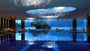 The ESPA Spa at The Europe makes the most of the incredible views