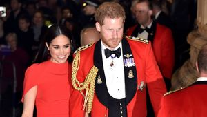 Thumb meghan markle red safiyaa dress at mountbatten festival