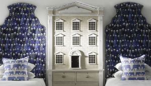 Thumb theatre midnight fabric headboards parade denim cushions dolls house cabinet lifestyle