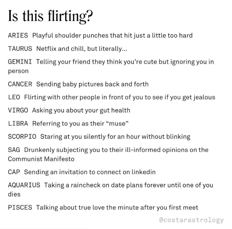 Do Virgos Stare When They Like Someone