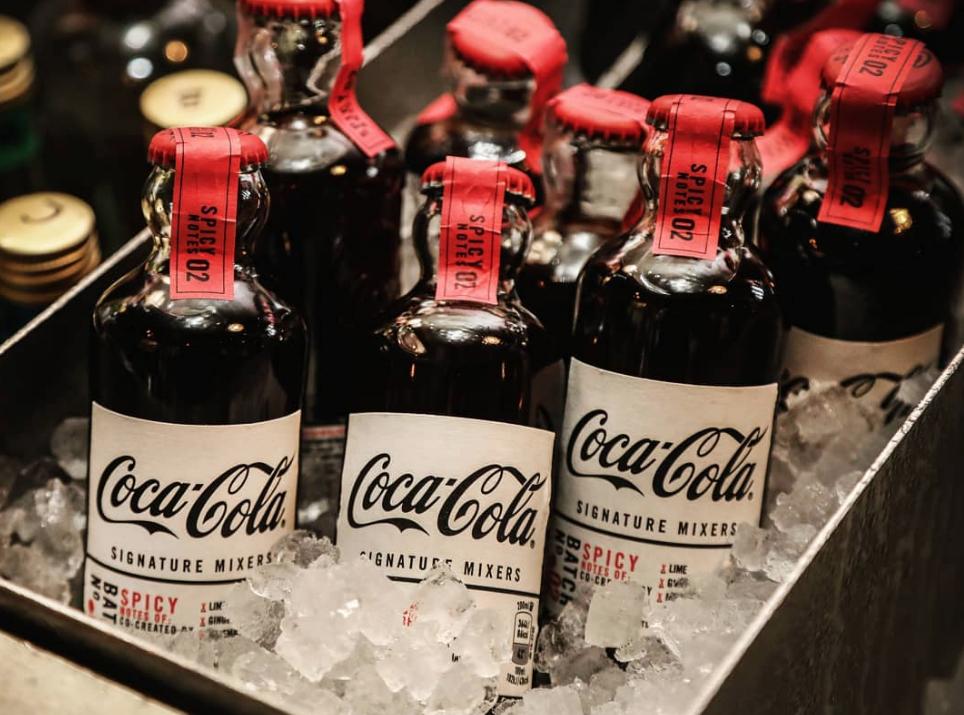 Coca-Cola Takes Mixers Top-Shelf With New Signature Range